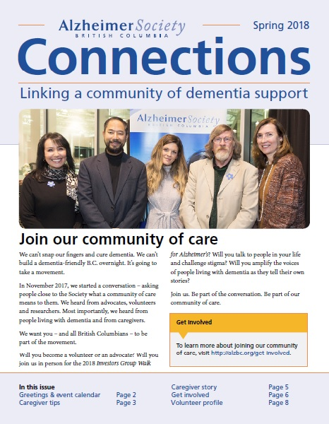 Spring issue of Connections 2018