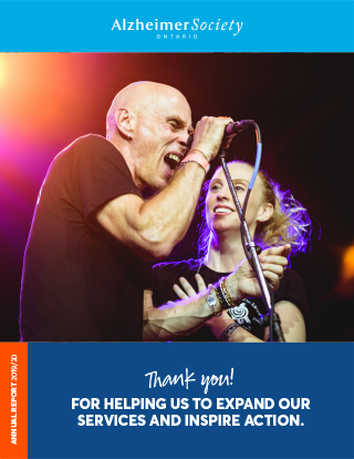 The cover image of the 2019-20 Annual Report