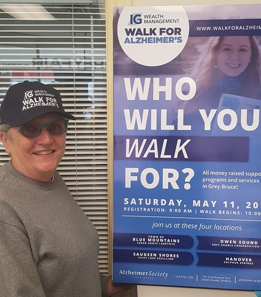 Why I Walk Sally at the Walk for Alzheimer's